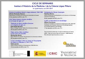 Cicle de seminaris, 1er quadrimestre 2013-2014 (internet)
